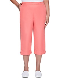 Miami Beach Cropped Pull-On Pants