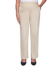 Sateen Pull-On Pants