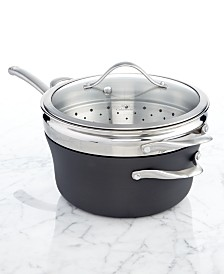 Calphalon Contemporary Nonstick 4.5 Qt. Covered Steamer Pot with Insert