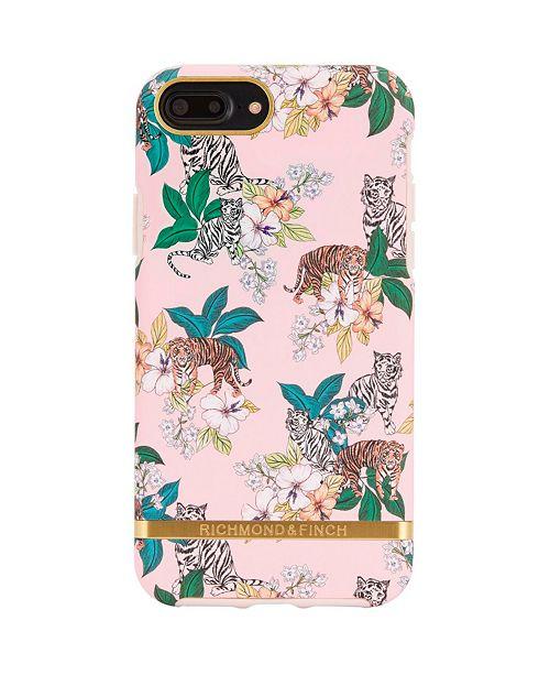 Richmond&Finch Pink Tiger Case for iPhone 6/6s, 6/s Plus, 7, 7 Plus, 8, 8 Plus, X, XS, XS Max, XR