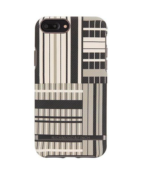 Richmond&Finch Platinum Stripes Case for iPhone 6/6s PLUS, 7 PLUS and 8 PLUS