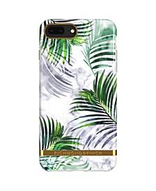 White Marble Tropics Case for iPhone 6/6s PLUS, 7 PLUS and 8 PLUS