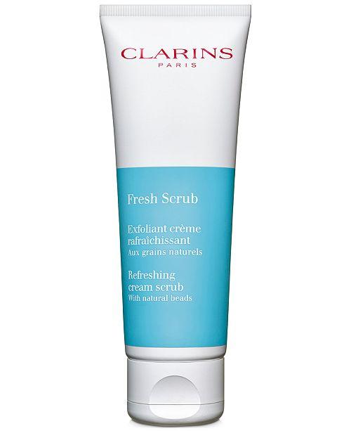Clarins NEW Fresh Scrub, 1.7-oz.