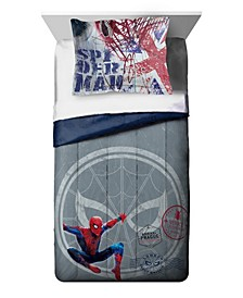 Spiderman Student Visa Full Duvet Cover & Sham Set