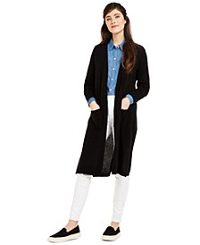 Cashmere Maxi Duster Cardigan, Created for Macy's