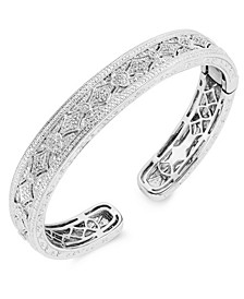 Diamond (1/4 ct. t.w.) Fashion Bangle in Sterling Silver