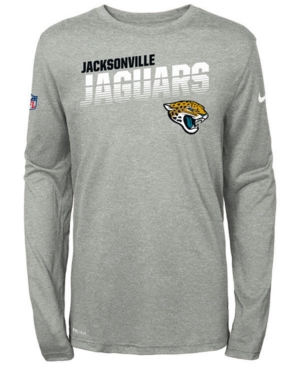 Nike Big Boys Jacksonville Jaguars Sideline Long Sleeve T-Shirt
