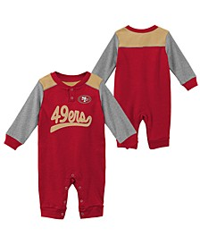 Baby San Francisco 49ers Scrimmage Coverall