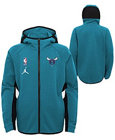 Big Boys Charlotte Hornets Showtime Hooded Jacket