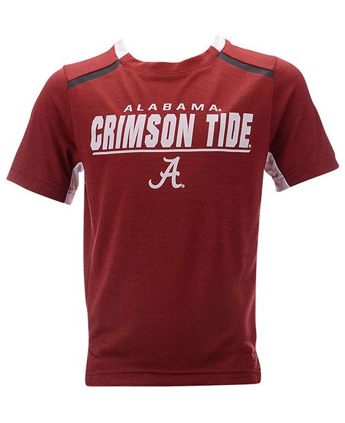 Outerstuff Little Boys Alabama Crimson Tide Static Performance T-Shirt