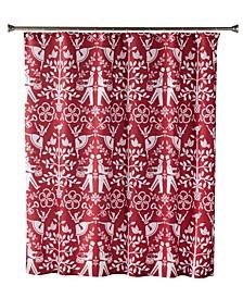 Christmas Carol Shower Curtain