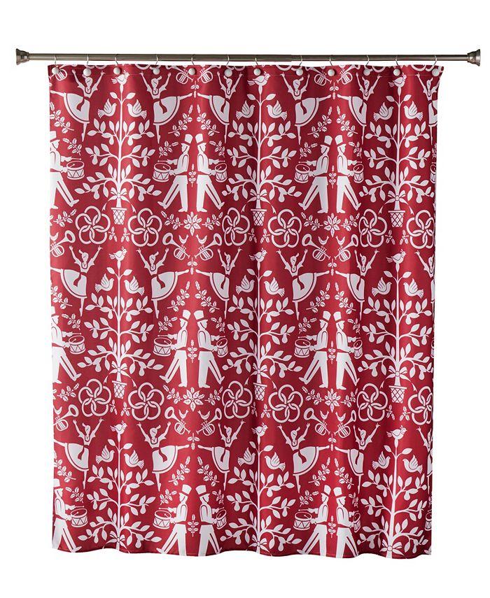 SKL Home - Christmas Carol Shower Curtain
