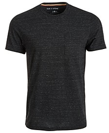 Men's Drew Contrast Chain Stitch T-Shirt, Created For Macy's