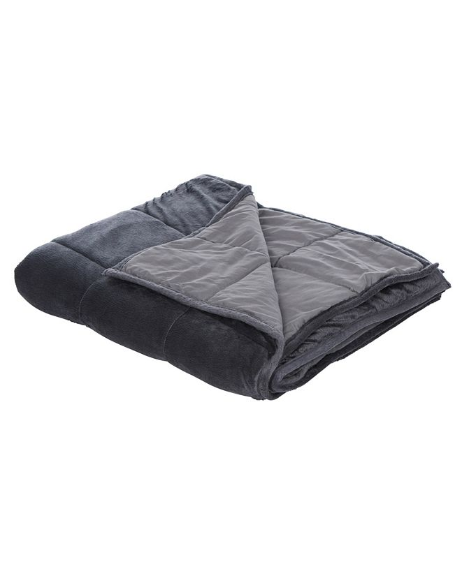 Therapy Home Comfort Plush Weighted Blanket, 15lb