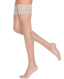 Women's  Sheer Shimmer Thigh Highs Pantyhose 1340