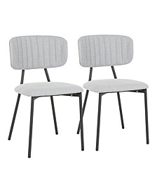Bouton Dining Chair (Set of 2)