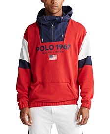 Men's Polo Fleece Hoodie