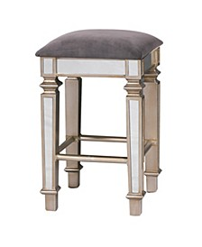 Mirrored Bar Stool