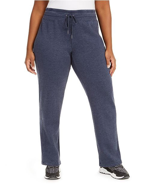 Calvin Klein Plus Size Fleece Sweatpants