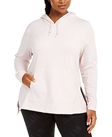 Plus Size Dri-FIT Yoga Cover-Up Hoodie
