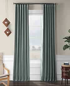 Exclusive Fabrics Furnishings Faux Linen Blackout Curtain Curtain Panel