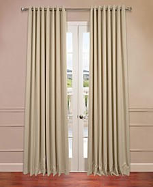 Grommet Extra Wide Blackout Curtain Panel