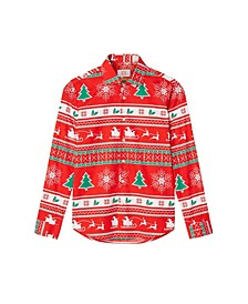 Big Boys Winter Wonderland Christmas Shirt