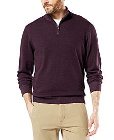 Men's Alpha Quarter-Zip Sweatshirt, Created For Macy's