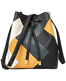 Multi Patchwork Small Debby II Drawstring Bag