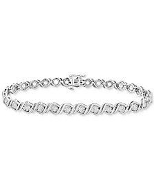 Diamond Tennis Bracelet (2 ct. t.w.) in 14k White Gold