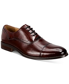 Men's Mack Cap-Toe Oxfords, Created for Macy's