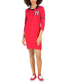 Varsity-Graphic T-Shirt Dress, Created For Macy's
