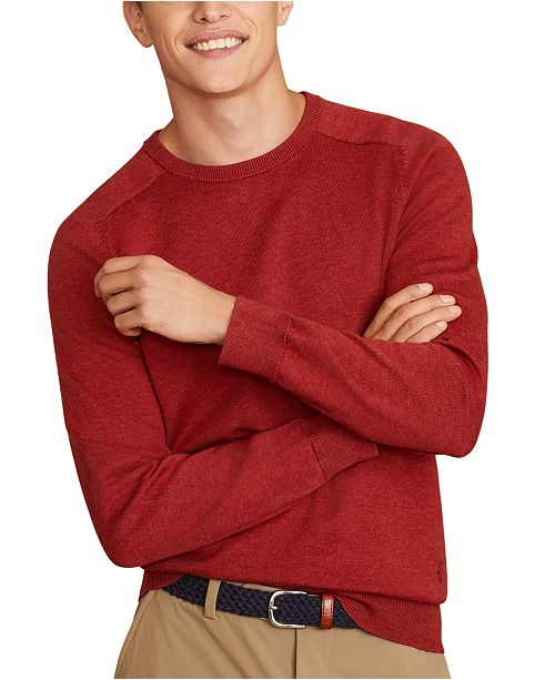 Brooks Brothers Men's Red Fleece Sweater