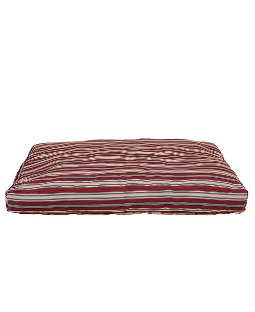 Carolina Pet Company Striped Faux Gusset Jamison Indoor/Outdoor Dog Bed Collection