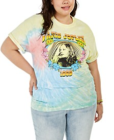Trendy Plus Size Janis Joplin T-Shirt, Created for Macy's