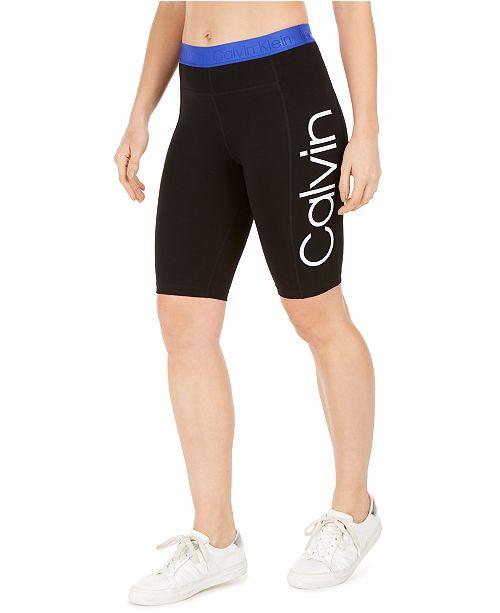 Calvin Klein Logo Bike Shorts
