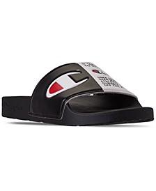 Boys IPO Split Jock Slide Sandals from Finish Line