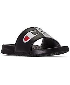 Little Boys Super Slide Split Jock Sandals from Finish Line