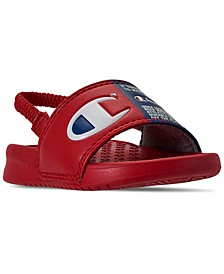 Toddler Boys Super Slide Split Jock Sandals from Finish Line