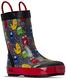 Little Boys Monsters Rain Boots from Finish Line