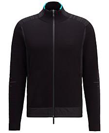 BOSS Men's Regular-Fit Full Zip Sweater