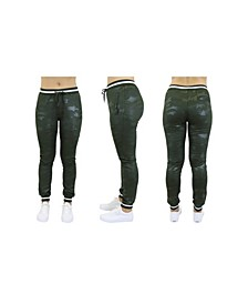 Women's Loose Fit Camo Tech Stretch Joggers