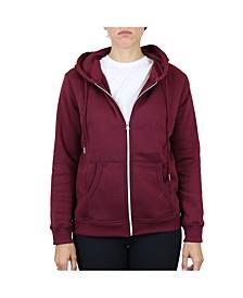 Women's Fleece-Lined Zip Hoodie