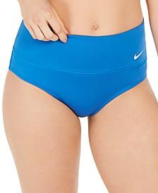 Essential High-Waist Banded Bikini Bottoms