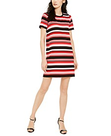 Striped T-Shirt Dress, Regular & Petite