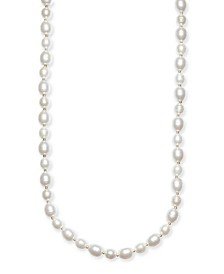 "Gold-Tone Imitation Pearl Strand Necklace, 42"" + 2"" extender, Created for Macy's"