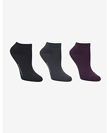 Soft Microfiber 3 Pc Low Cut Dress Sock
