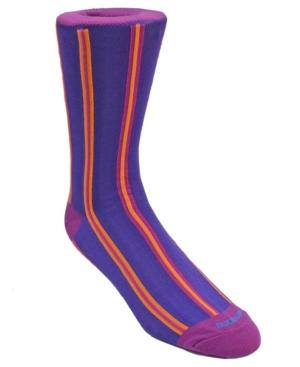 Men's Vertical Stripe Dress Sock
