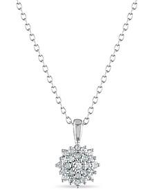 Diamond 1/5 ct. t.w. Pendant in Sterling Silver