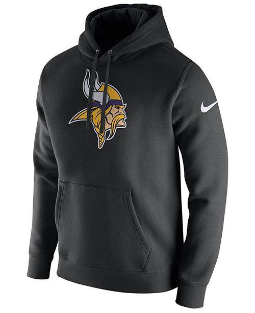 Nike Men's Minnesota Vikings Fleece Club Hoodie